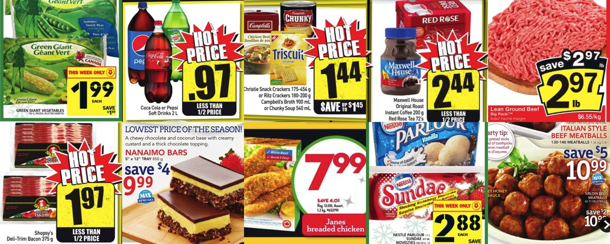 Grocery Deals For December 18 2015 All The Flyers You Need In One