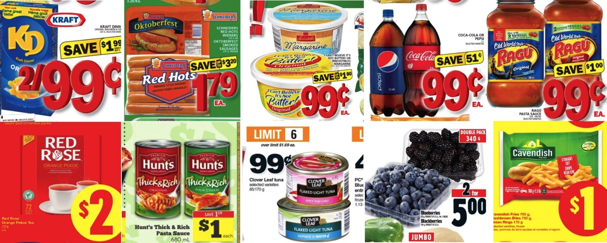 Grocery Deals for April 29, 2016 - All the Flyers You Need In One ...