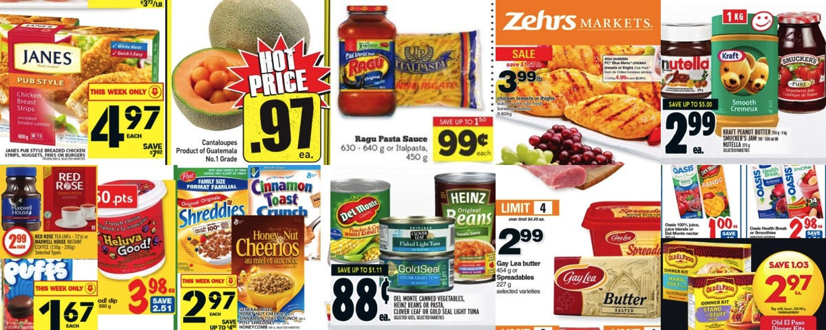 Grocery Deals for April 8, 2016 - All the Flyers You Need In One Place