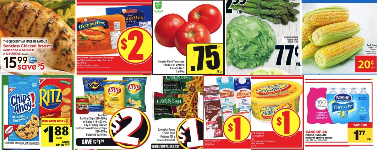 Grocery Deals for July 29, 2016 - All the Flyers You Need In One Place