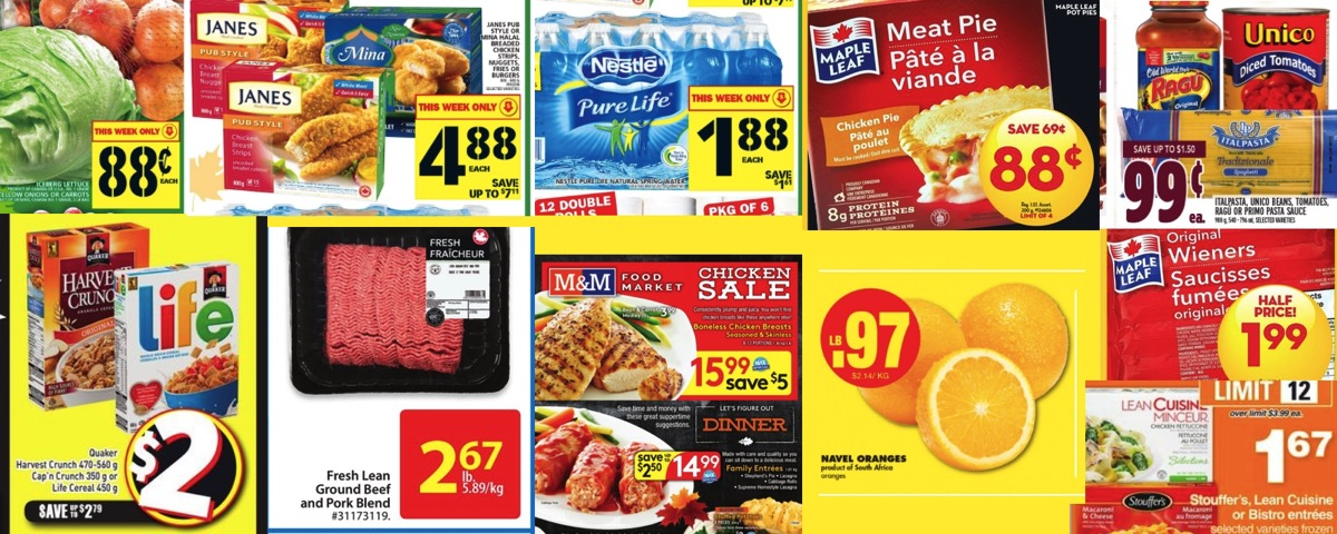 Browseniagara grocery deals oct 14