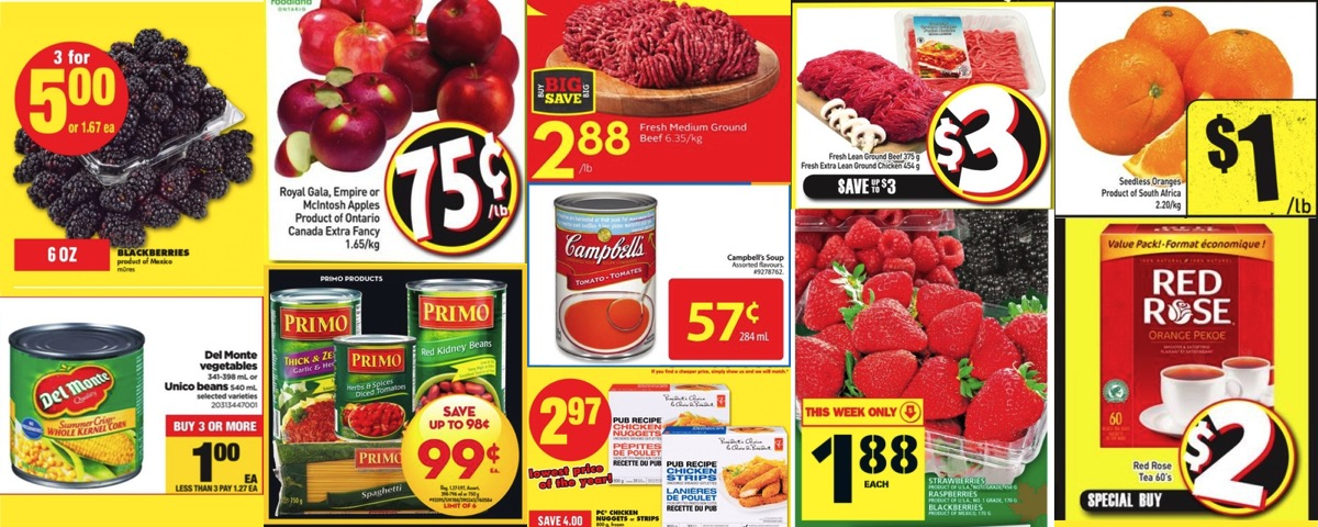 Browseniagara grocery deals oct 21