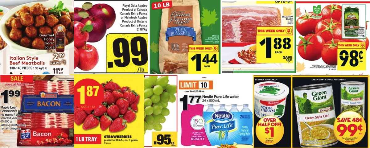 Browseniagara grocery deals oct 7