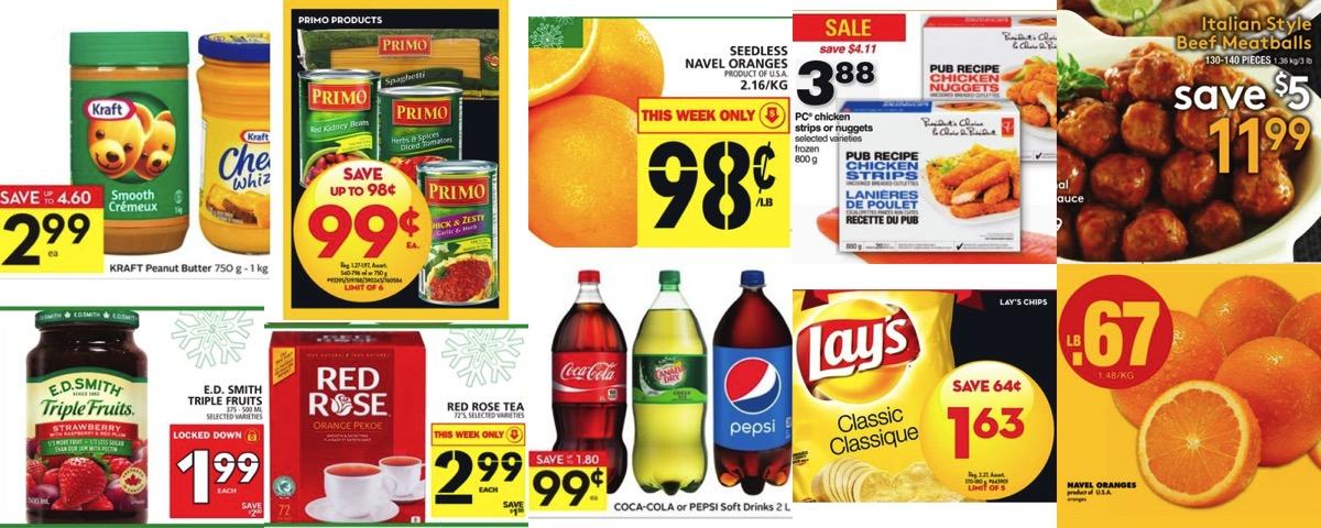 Browseniagara grocery deals dec 30