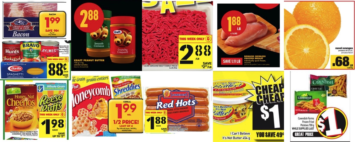 Browseniagara grocery deals jan 6